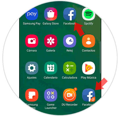 Calendario Samsung.How To Have Two Accounts Of Facebook Or Whatsapp On Samsung Galaxy