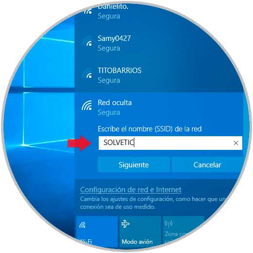How to add and connect hidden WiFi Windows 10 - TechnoWikis com